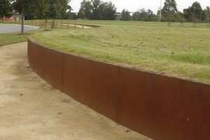 Retaining Wall (Casey Fields Sporting Complex, Cranborne East)