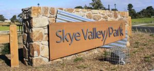 Estate Signage with Steel Lettering, Skye