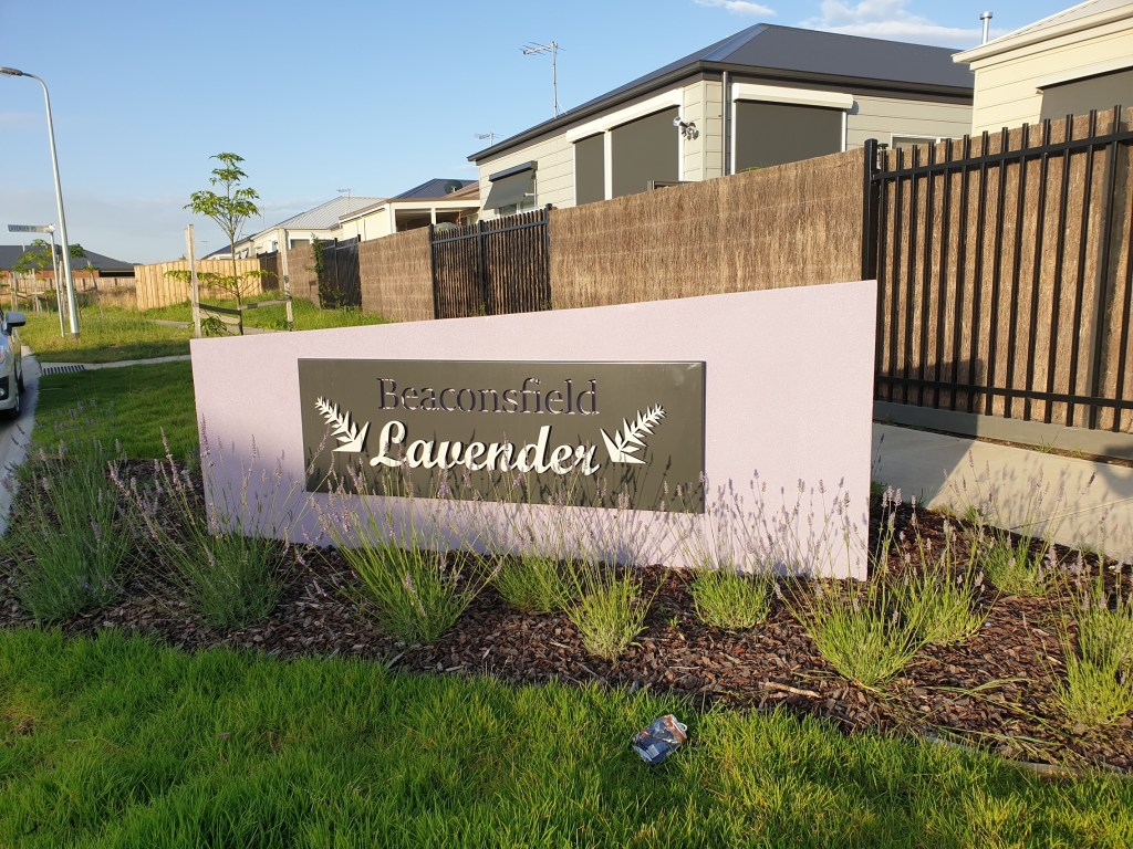 Beaconsfield Lavender Estate Signage by PLR Design