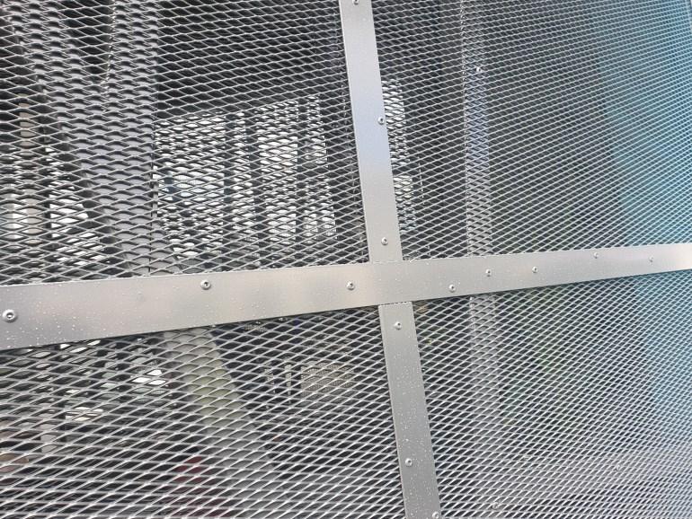 Laser cut external building facade for Moonee Ponds Club
