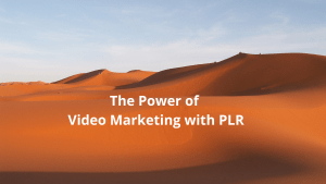 The Power of Video Marketing with PLR
