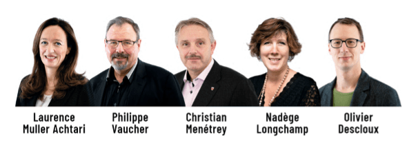 Candidats de l'Alliance montaine à la Municipalité