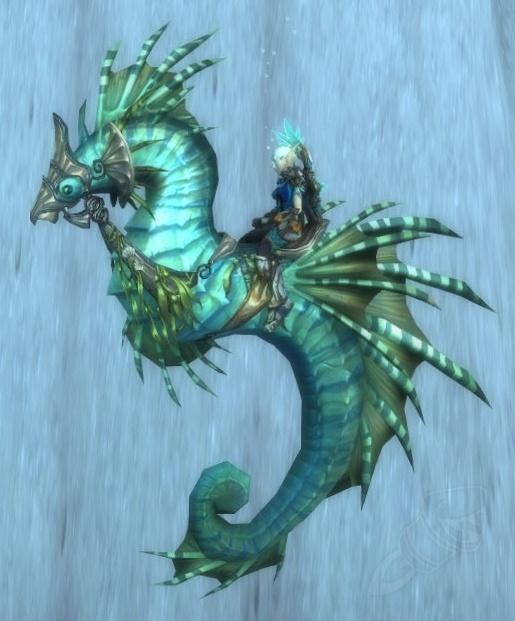 【美服】魔兽世界坐骑:波塞冬斯的缰绳Reins of Poseidus@PLS173.com