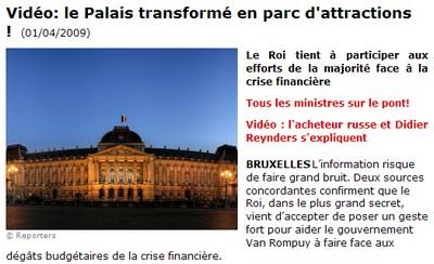 Le Palais vendu à un milliardaire russe