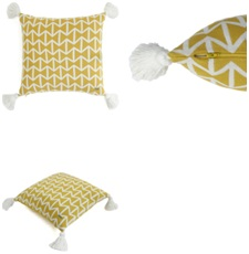 Natural Color Cotton Knitted Decorative Cushion Cover