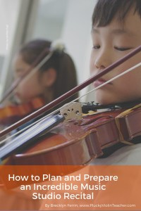 Do you have a process for planning successful recitals for your students? We owe it to our students to do everything we can to help them have an amazing recital experience. Here's how I do it...