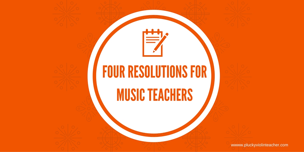 Where I'll be focusing my music teaching efforts in the new year...