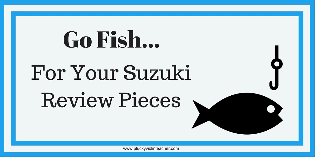 Is review like pulling teeth? Try this game to make your Suzuki review pieces more fun!
