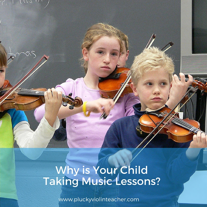why do you want your child to continue violin lessons