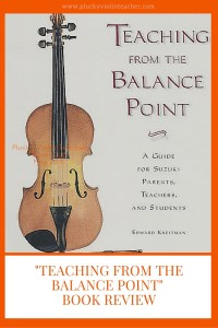 Teaching From The Balance Point: The Plucky Violin Teacher Book Club: May 2016