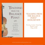 """Teaching From The Balance Point"" Book Review"
