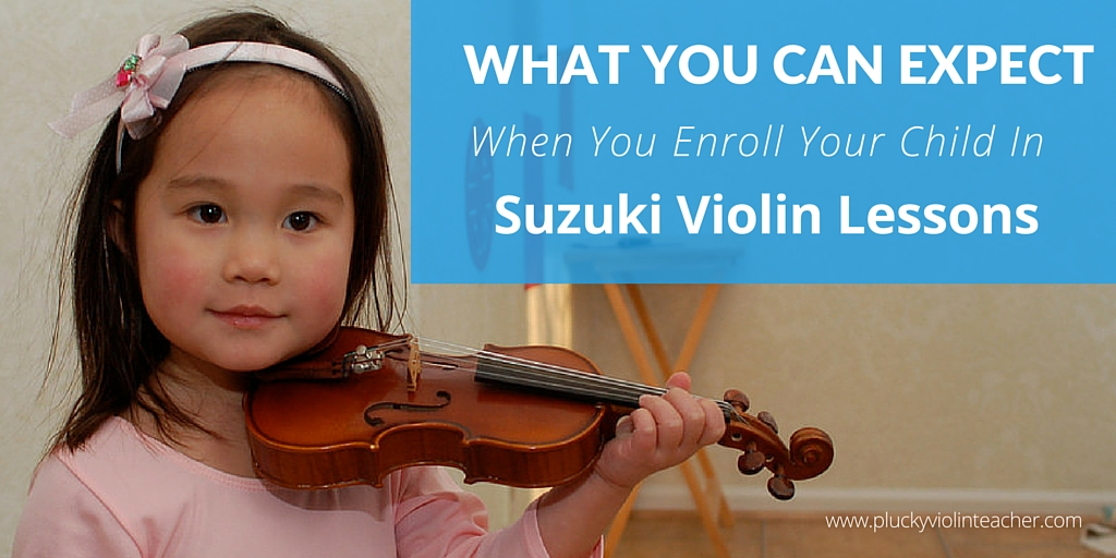 What do you really need to know about what Suzuki Violin Lessons are going to be like for your family? Here's how you can help your child be successful...