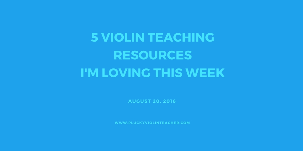 Back-to-school tips for Suzuki violin teachers.