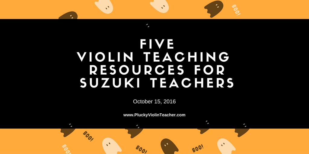 A weekly round up of online resources for Suzuki teachers...