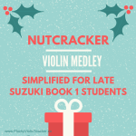 Free Violin Nutcracker Arrangement