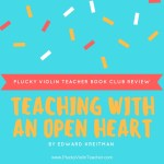 Book Club: Teaching with an Open Heart Review