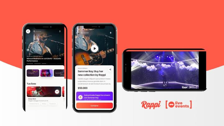 No Rappi Live Events, a empresa aposta nas lives como os eventos do futuro.