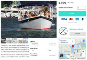 Check out this AirBnB for electric boats - Plugboats