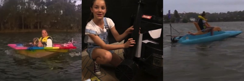 The young girl who helped build the DIY solar catamaran with three other electric boat inventions