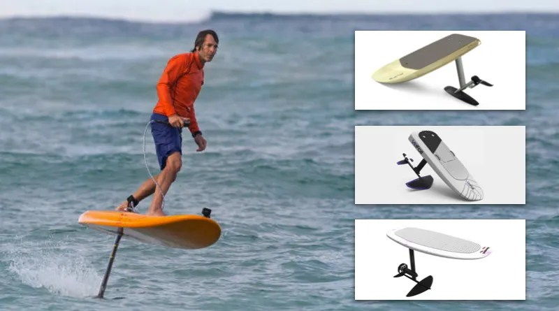 Ultralight Surfing Foil Wing Inflatable Surfboard SUPs Hydrofoil Foiling Kite