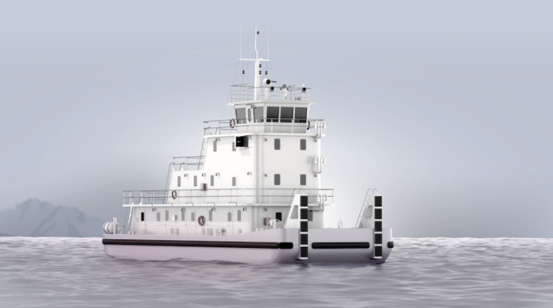 artist impression of hydrogen river boat