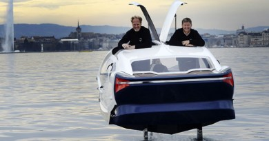 SeaBubbles gets green light to test on the Seine