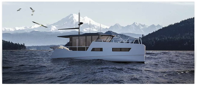 Electric boat by VIK Boats