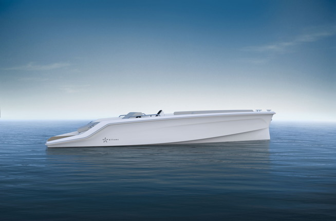 Electric boat from Strana