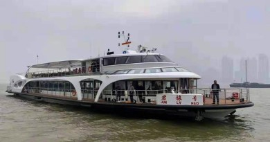 China's electric ferry is first in the country