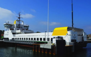 Ellen, the world's largest ever all-electric battery powered ferry
