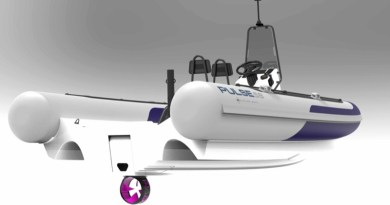 Rim motor, RAD Propulsion power new RS Electric RIB