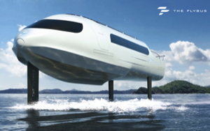 electric foiling boat - ferry - that holds 32 people