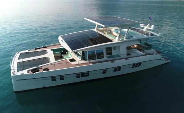 Serenity Yachts solar catamaran