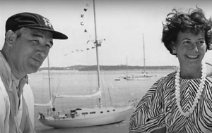 Frank and Kit Denison, founders of Broward yachts/Denison Yachting
