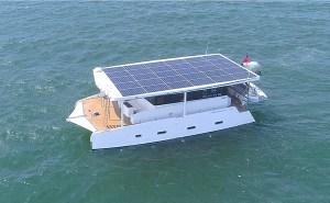Azura Aquanima solar boat