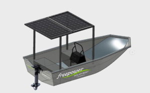 Norwegian solar boat first working proof of concept