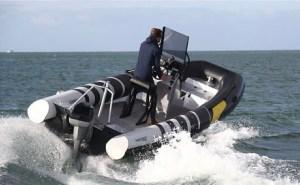 Naviwatt ZenPro 580 electric rib workboat