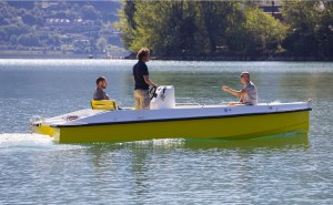 Pinguin Best 6 electric boat