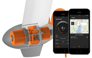 Torqeedo founder developed these motors and i-Phone tracking systesm