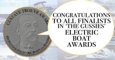 The Gussies Electric Boat Awards  – 19 Finalists Announced