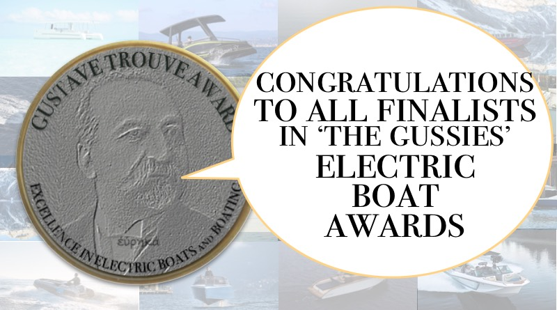 Gustave Trouve electric boat awards - Gustave Trouve says 'c ongratulations to winners'
