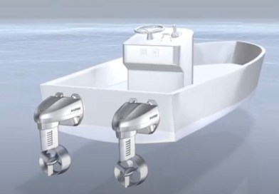 Yamaha starts trials on twin electric boat motor unit