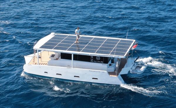 Azura Aquanima solar catamaran