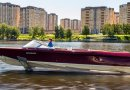 Classic look hydrofoiling electric boat debuts in Moscow