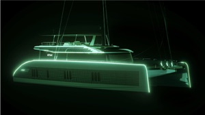 Sunreef electric yacht, a catamaran from their Eco line