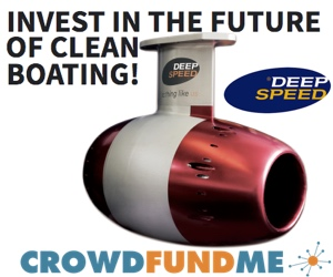 Electric boat motor crowdfunding