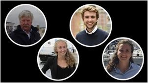 Jurjen, Hylke, Josien and Sarah Poorting of Natural Yachts