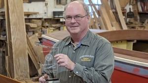 Budsin Electric Boats owner Tom Hesselink