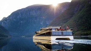 Volvo Penta emobility acquisition -ZEM did batteries for Vision of the Fjords ferry shown here
