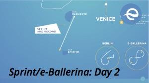 Day 2 map - World's 1st e-Regatta